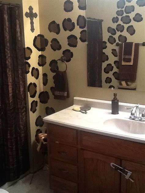 discover 17 best ideas about cheetah print bathroom on