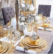 Luxurious Christmas Tree Decorating Ideas For School Decor Settings Place Settings Christmas Ideas Christmas Tablescapes Holiday
