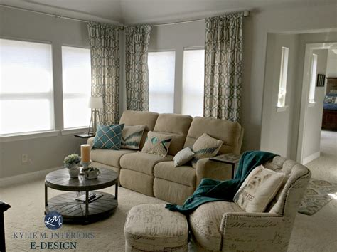 Wohnzimmer Grau Beige by Sherwin Williams Repose Gray In Living Room With Beige