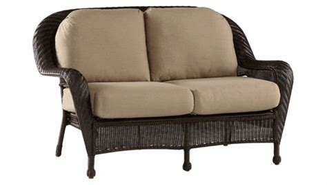 luana outdoor resin wicker loveseat clubfurniture