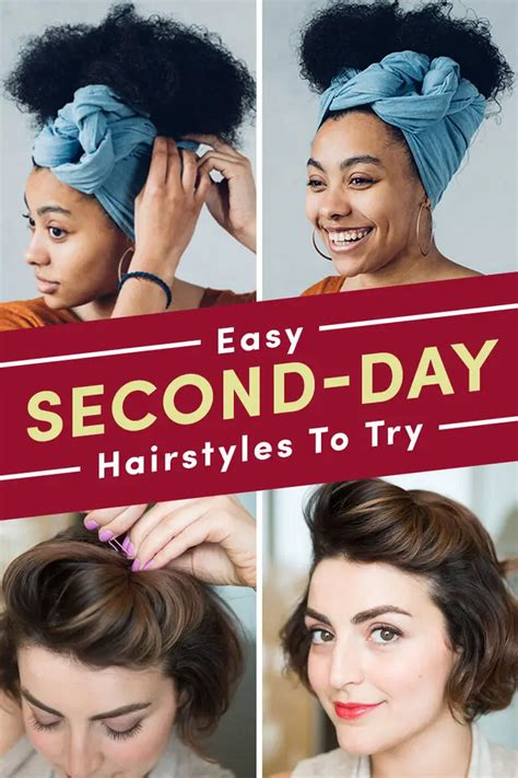 21 Easy Second Day Hairstyles You Can Do In Five Minutes