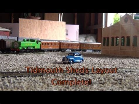 the tidmouth shed layout tidmouth sheds layout complete