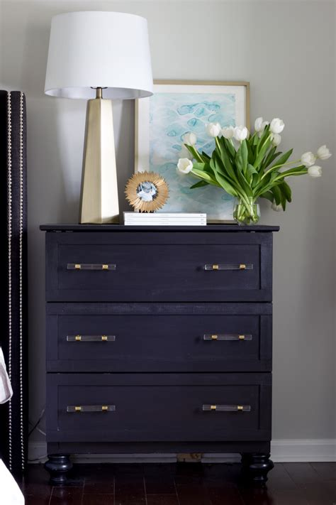nightstand with drawers ikea tarva hack tutorial erin spain