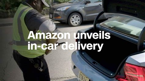 Amazon Now Delivers To The Trunk Of Your Car