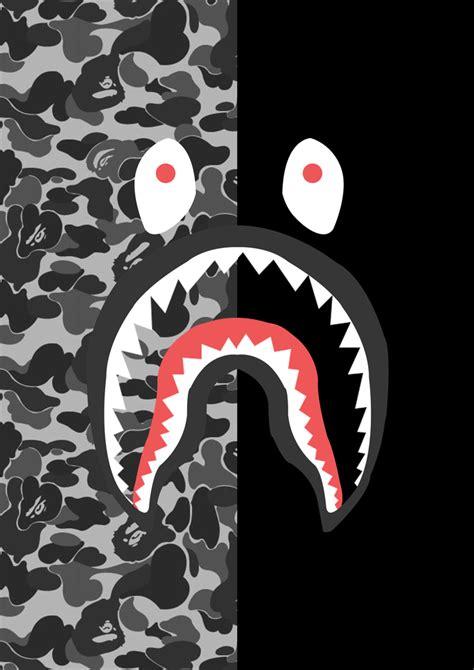 Resultado de imagen para bape shark logo Moda hecha por