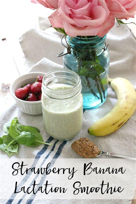 Strawberry Banana Protein Smoothie Lauren Mcbride