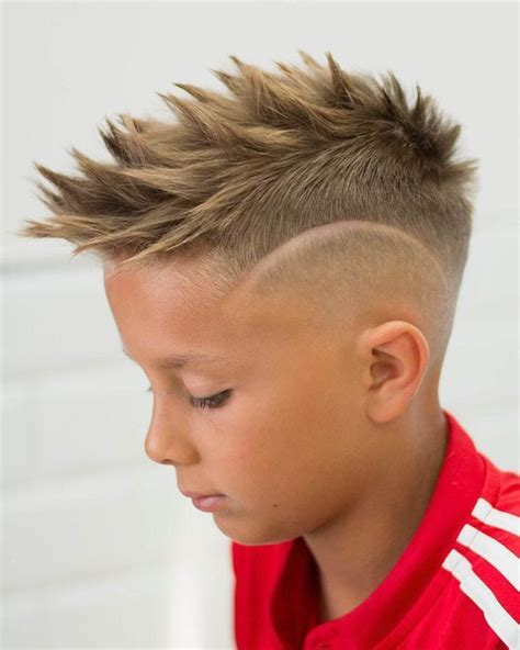 Boy Faux Hawk Hairstyle by Best Faux Hawk Haircuts For Fohawk Fade Hairstyles