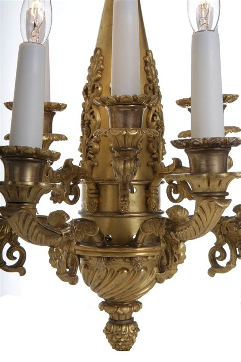 vintage chandeliers for empire ormolu bronze wall lights circa 1810 for 6786