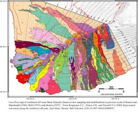 Hawaii Lava Flow Map