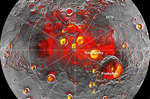 Mercury has ice buried beneath its surface in craters at ...