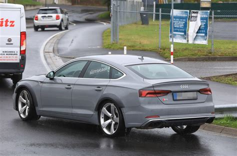 Audi Rs5 4 Door by 444bhp Turbo V6 Powered Audi Rs5 Sportback Seen