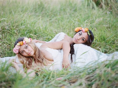 Two Bride Lesbian Wedding Maui Love Wins Wendy