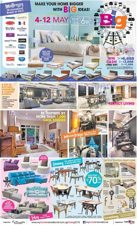 big furniture fair  singapore expo