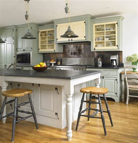 Sage Green Kitchen Cabinets With Black Appliances by How To Get That French Provincial Country Look 171 Doesn T