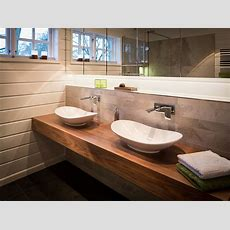 Umgestaltung Eines Badezimmers In Einem Blockhaus
