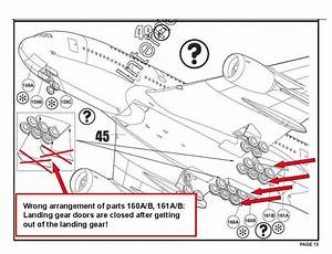 A380  Revell 1 144   U2013 Flaws In The Construction Manual