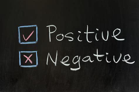 Negative Vs Positive  My #careerhacks