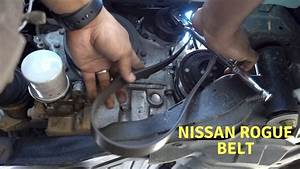 How To 2008 To 2013 Nissan Rogue Serpentine Belt