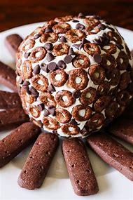 Chocolate Chip Dessert Cheese Ball Recipe