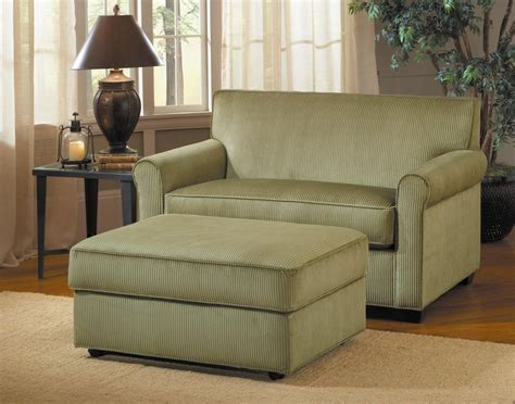 sofa chair and ottoman owning compact living home décor with flexible sense from
