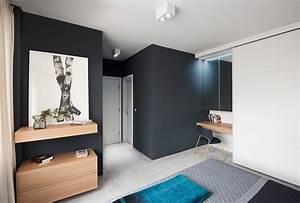 Minimalist, Apartment, Design, With, Simple, Wooden, Interior