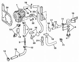 Johnson Vro Pump Parts For 1987 60hp J60tlcuc Outboard Motor