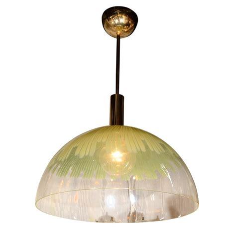 venini glass dome pendant light let there be light