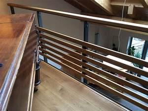 Treppengeländer Außen Holz : treppengel nder holz metall treppen pinterest ~ Michelbontemps.com Haus und Dekorationen