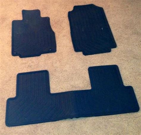 honda crv all weather floor mats 2010 buy new oem genuine honda cr v floor mats all weather