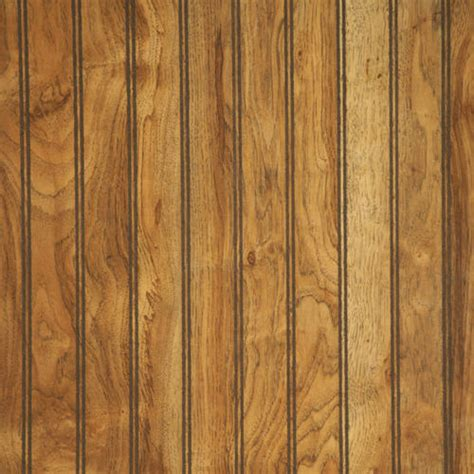 Wainscoting Panels Menards by American Pacific 32 Quot X 48 Quot Beaded Pecan Wainscot Panel At