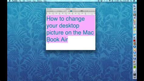 how to switch your apple how to change your desktop picture on your mac book air