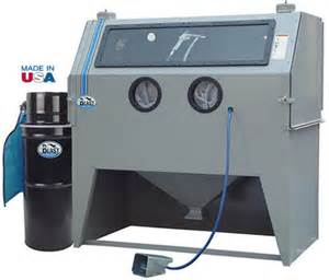 tp tools 174 979 cab skat sand blast sandblasting cabinet made in usa