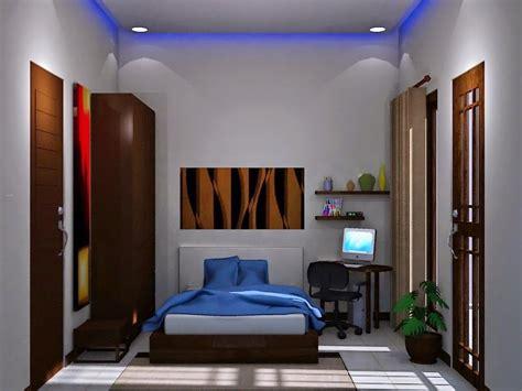 desain kamar tidur utama ukuran  minimalis