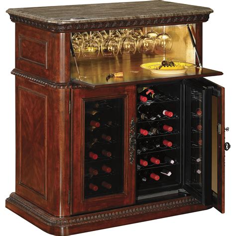 bar cabinet with wine fridge product tresanti rutherford wine bar cooler model