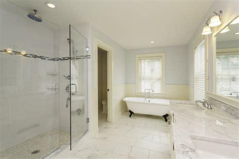 carrara marble tile white bathroom design ideas modern