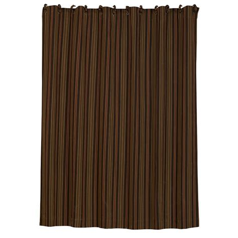 wilderness ridge stripe shower curtain