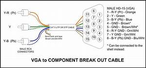 Component To Vga Pin Diagram