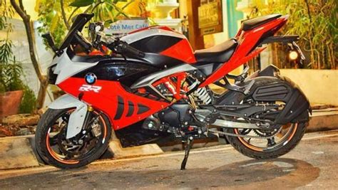 Bmw S 1000 Rr Modification by Tvs Apache Rr 310 To Bmw S1000rr Modification The