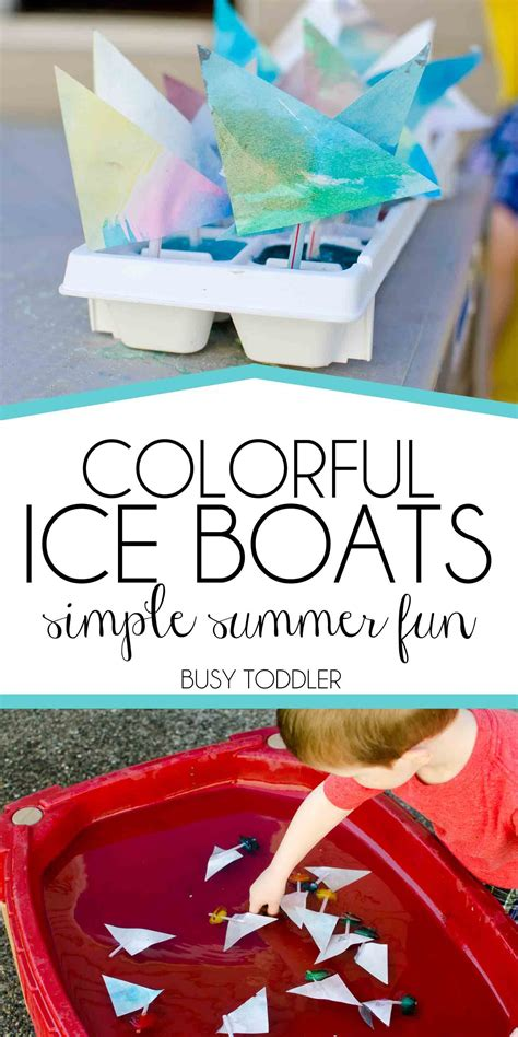 Boat Pictures For Kindergarten by Colorful Boats Water Tables Play Ideas And Boating