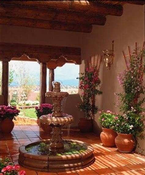 mexican style patio mexican style patio outdoor living pinterest