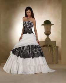 white lace wedding dress i wedding dress black and white lace wedding dress