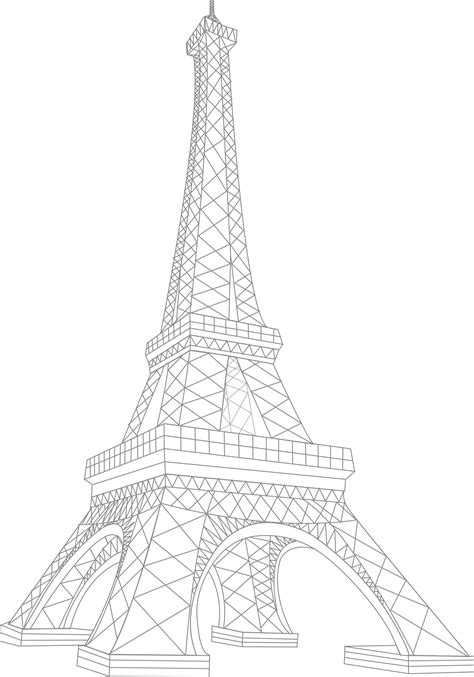 gallery  eiffel tower vector  image