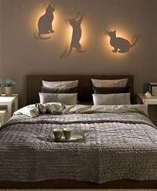 cat decor diy bedroom lighting and decor idea for cat