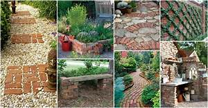 how to decorate your garden with red bricks With how to decorate your garden