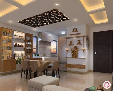Interior Design For Living Room Usa by 11 Pooja Room Designs For Small Apartments Happyshappy
