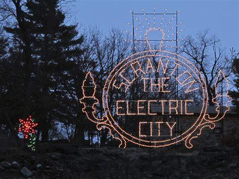 scranton daily photo the electric city holiday lights