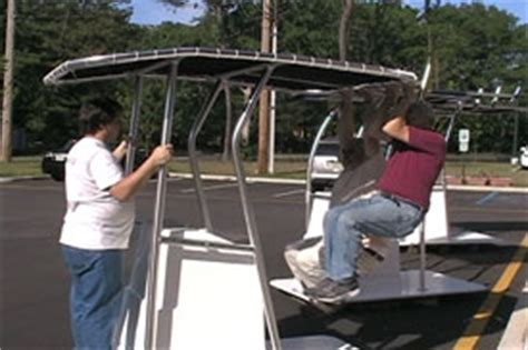 Boat T Top Weight by Center Console T Tops Custom T Tops Boat T Tops