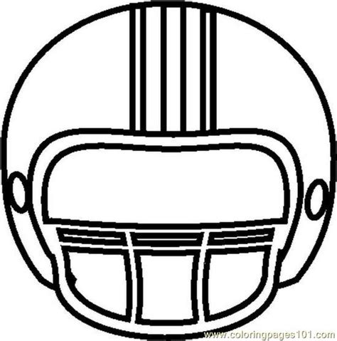 footballhelmetbw coloring page   coloring pages coloringpagescom