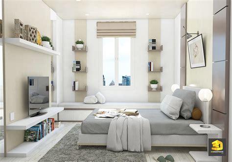 3d chambre perspectives d 39 intérieur d 39 appartement chambre à coucher