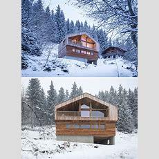 Mountain House By Studio Razavi Architecture  Contemporist